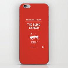 BBC Sherlock The Blind Banker Minimalist Poster iPhone & iPod Skin