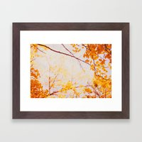 Yellow Madness Framed Art Print