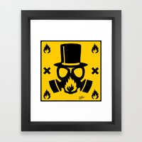 Dandy Punk Framed Art Print