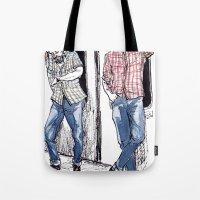 Urban Lumberjacks By Kat… Tote Bag