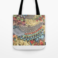Quilted Forest: The Deer Tote Bag