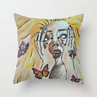 Metamorphosis I Throw Pillow