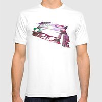 Mix Tape #9 Mens Fitted Tee White SMALL