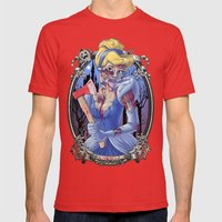 Zombie Cinderella Mens Fitted Tee Red SMALL