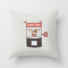 Dunk Gizmo Throw Pillow