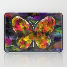 abstract butterfly iPad Case