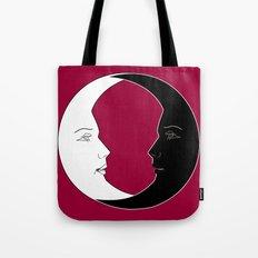 ying yang luna Tote Bag