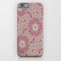 Mandala Starburst iPhone 6 Slim Case