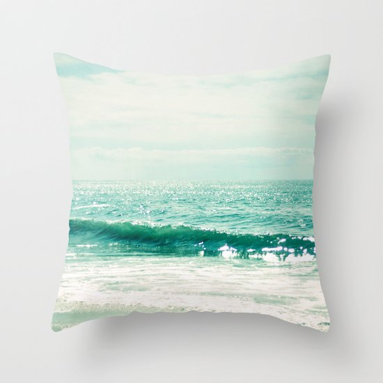 Sea of Tranquility... Throw Pillow