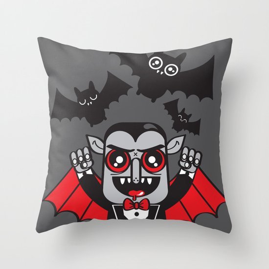 Evil Powers of Pumped up Kicks Throw Pillow