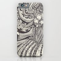iPhone & iPod Case featuring La Lune by Trudy Creen