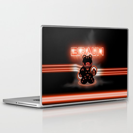 BRAUN - The Bearginning Laptop & iPad Skin