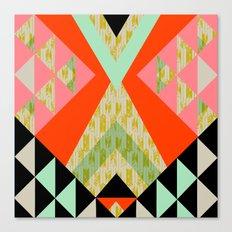 Arrow Quilt Canvas Print