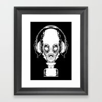 Tune In Framed Art Print