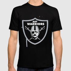 Art Raiders Black SMALL Mens Fitted Tee