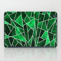 Shattered Emerald iPad Case