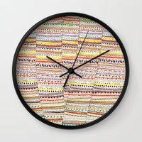 Cone pattern Wall Clock