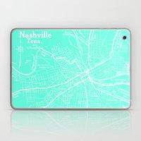 Vintage Nashville Turquo… Laptop & iPad Skin