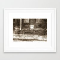 Pub Resting Place Art Vi… Framed Art Print