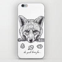 Quick Brown Fox iPhone & iPod Skin