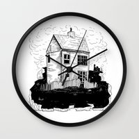 A House in Newfoundland Wall Clock