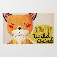 Because I'm A Wild Anima… Rug