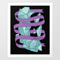 Nothing To See Here (B). Art Print