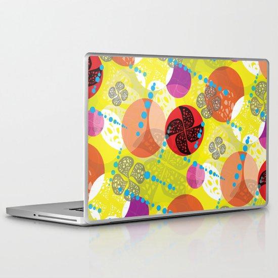Windmill Circles Laptop & iPad Skin