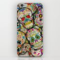 Sugar Skull Collage iPhone & iPod Skin