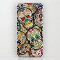 Sugar Skull Collage iPhone & iPod Skin