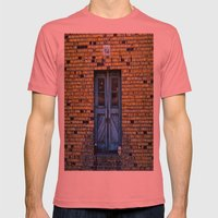Blue Door 64 Mens Fitted Tee Pomegranate SMALL