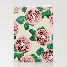 Pomegranate V2 #society6 #decor #buyart Stationery Cards