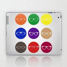 9 Glasses Styles Laptop & iPad Skin