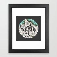 Imagine Nature II Framed Art Print
