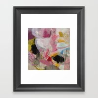 Mary And The Circus Framed Art Print