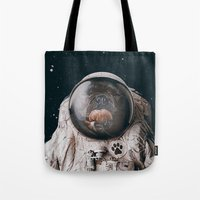 Space Dog Tote Bag