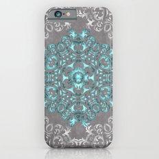 Mandala Pattern with Glitters Slim Case iPhone 6s
