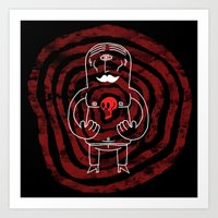 The Lonely Cyclops Of Sk… Art Print