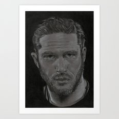 Tom Hardy Art Print