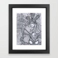 Blind Sensibility (Sketch) Framed Art Print