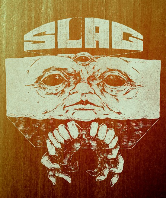 Slag Box Art Print