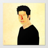 Ross Geller  Canvas Print