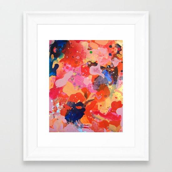 Abstract 43 Framed Art Print