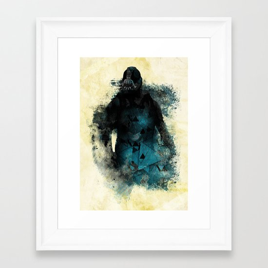 Abstract BANE Framed Art Print