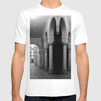 Corridors Of Confusion Mens Fitted Tee White SMALL