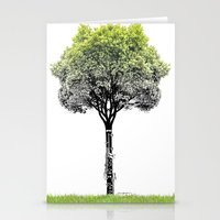 Rooted Sound V (clarinet… Stationery Cards