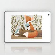 The Bookish Forest: Fox Laptop & iPad Skin