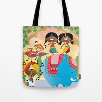 India Party Tote Bag