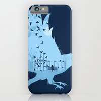Crows on the Playground iPhone 6 Slim Case