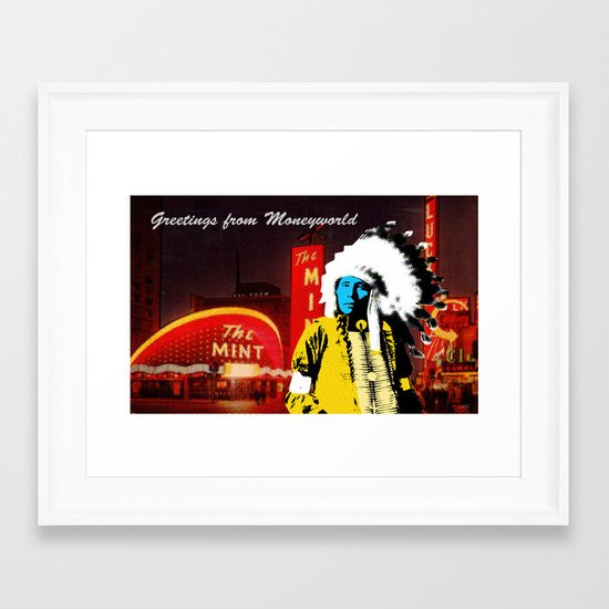 Indian Pop 98 Framed Art Print